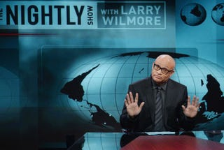 Larry Wilmore hosting The Nightly ShowComedy Central