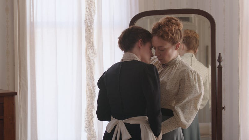 Kristen Stewart and Chloe Sevigny in Lizzie.