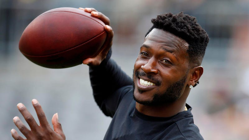 Antonio Brown in 2018