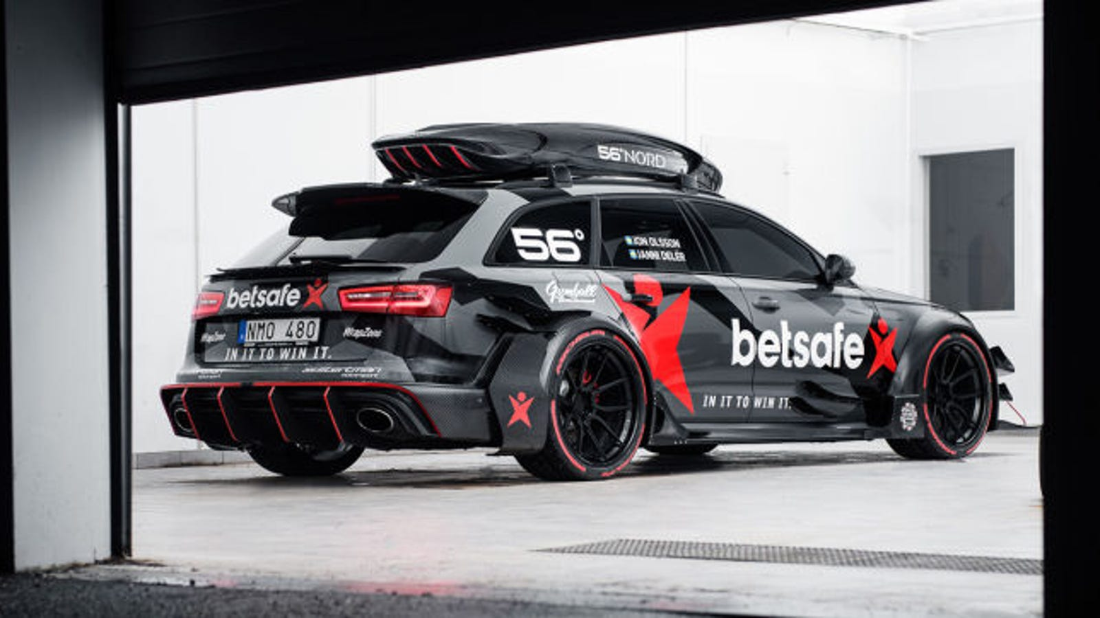 Jon Olssons Crazy Audi RS DTM Was Stolen And Burned To The Ground - Audi r6