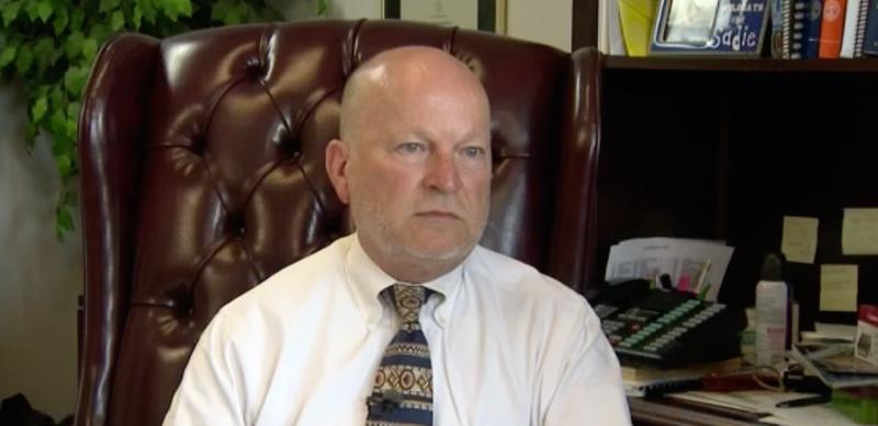 White County, Tenn., General Sessions Judge Sam Benningfield (News Channel 5 screenshot)