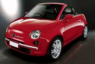 Illustration for article titled AutoExpress Specs Out the New Fiat 500 Cabrio