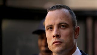 Oscar Pistorius leaves North Gauteng High Court on May 14, 2014, in Pretoria, South Africa.Christopher Furlong/Getty Images
