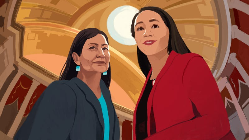 Illustration for article titled Sharice Davids and Deb Haaland Have Arrived