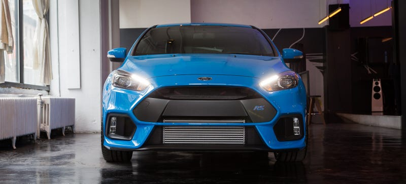 Illustration for article titled Why The Only 2016 Ford Focus RS In America Is A Half Million Dollar Car