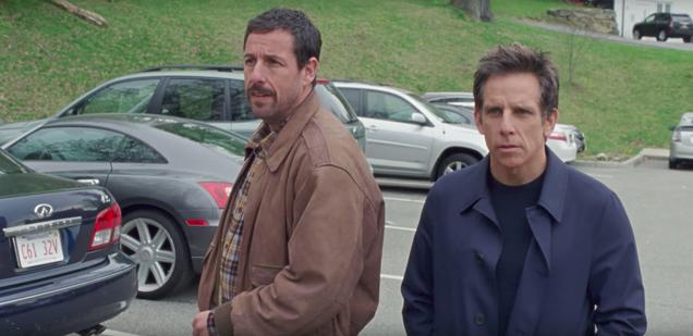 Sandler, Stiller, and Hoffman get dysfunctional in the new Meyerowitz Stories trailer