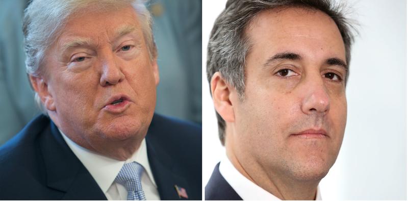 Donald Trump; Michael Cohen