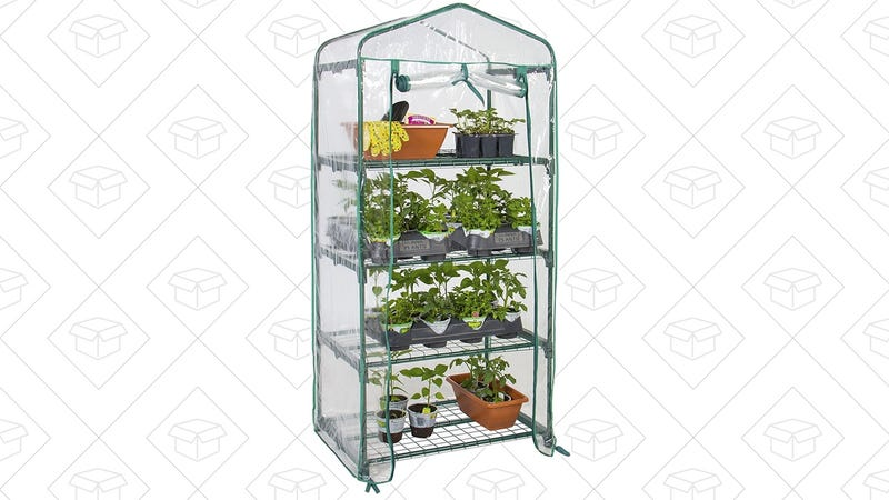Best Choice Products Mini Greenhouse, $25