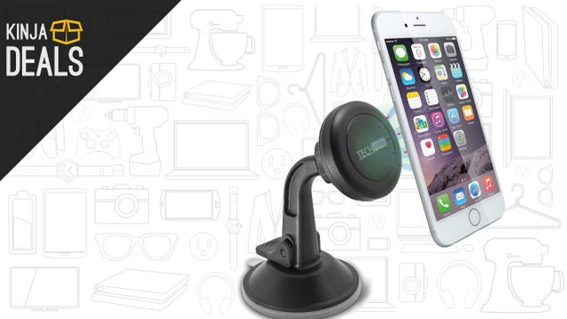 Mount Your Phone In The Car Magnetically, Without Blocking a Vent