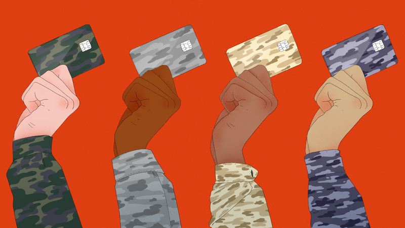 How to Save on Credit Cards If You're in the Military