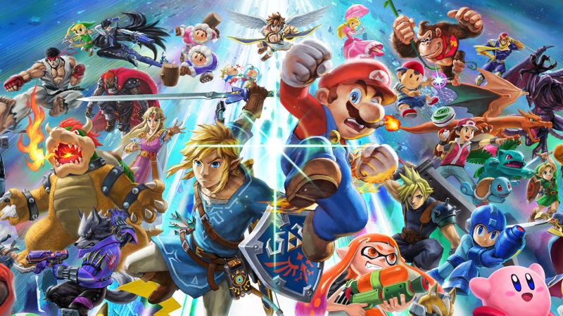 Estos Son Todos Los Personajes De Super Smash Bros Ultimate Para