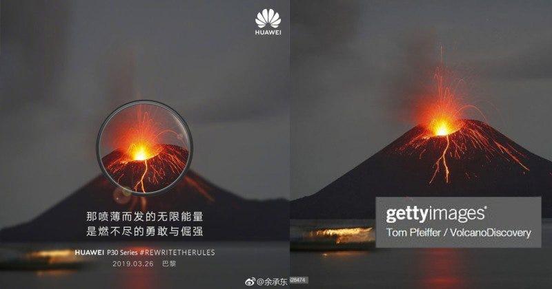 Illustration for article titled La imagen de la derecha es de Getty. La de la izquierda es la misma, aunque en el anuncio del Huawei P30 Pro (y no es la única)