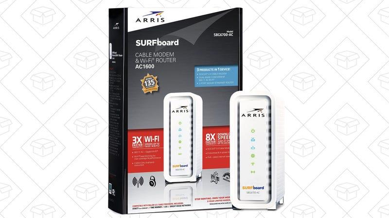 SURFboard SBG6700AC Modem/Router, $91