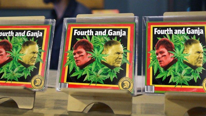 Fourth And Ganja album cover.