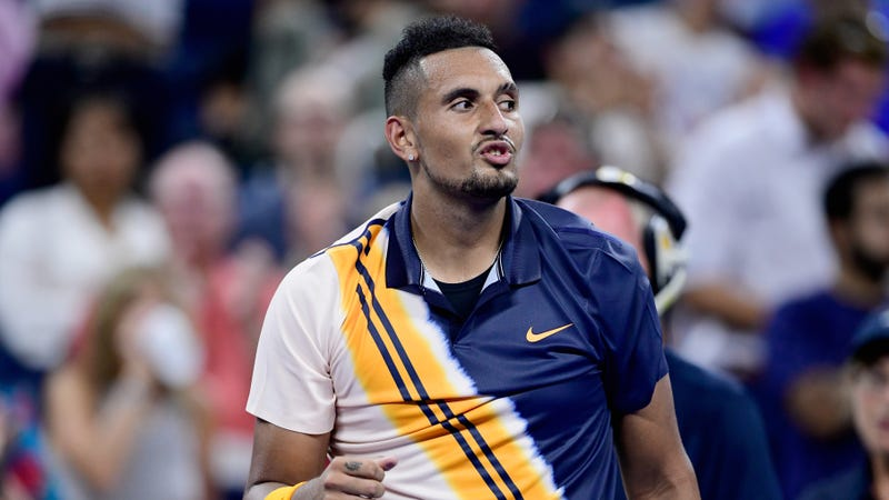 Illustration for article titled Nick Kyrgios Can't Stop Beefing With Tennis Writer Ben Rothenberg
