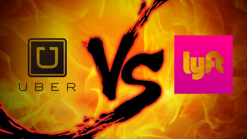 Illustration for article titled Ride Sharing Showdown: Uber vs. Lyft