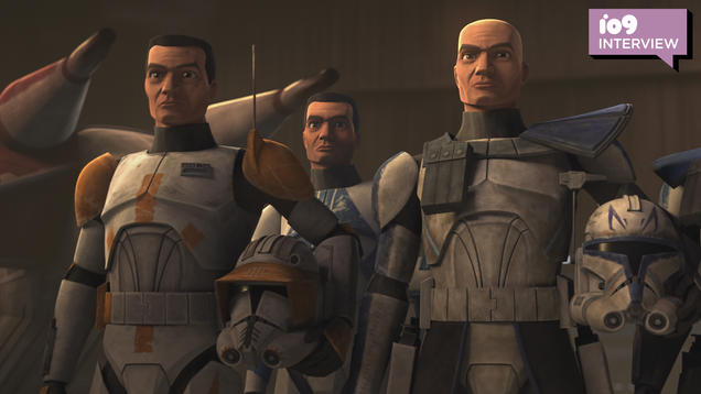 Star Wars: The Clone Wars Actor Dee Bradley Baker on Returning to the Front Lines