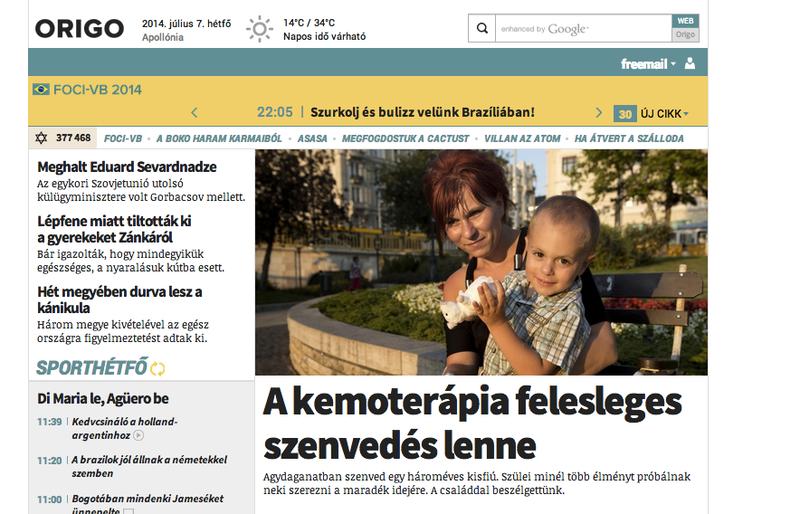 Illustration for article titled Az Origo megölte az indexes Miklósi Gábor felsíró gyermekét