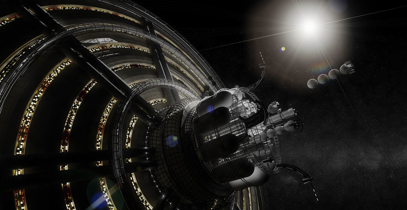 """Illustration for article titled White House Seeks Advice On """"Bootstrapping A Solar System Civilization"""""""