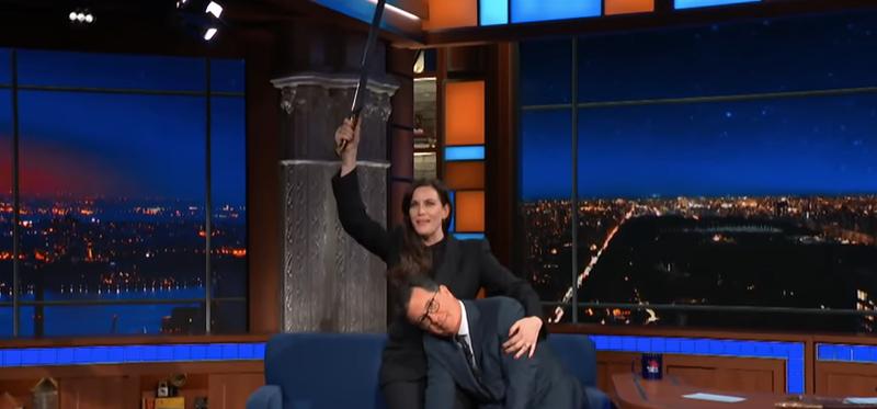 Liv Tyler, Stephen Colbert
