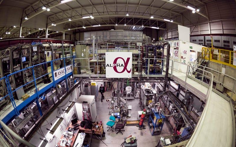 The ALPHA Experiment Image: Maximilien Brice/CERN