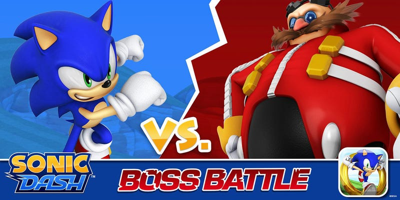 Illustration for article titled It Took Nearly A Year To Get To An Eggman Boss Fight In Sonic Dash