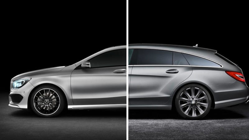 Illustration for article titled Sexy Mercedes-Benz CLA May Get A Sexy Shooting Brake Version