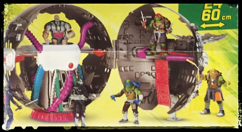 New Teenage Mutant Ninja Turtles 2 Toys Give Us Our First Look At Krang Gizmodo Uk