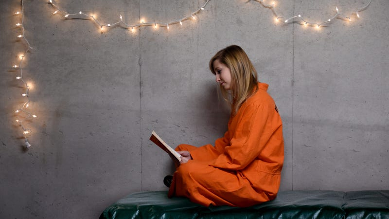 Illustration for article titled Whoa: Morgan Hung Up String Lights In Her Jail Cell