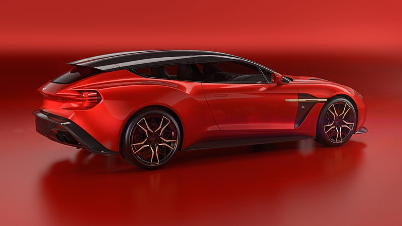 Illustration for article titled I Want The Aston Martin Vanquish Zagato Shooting Brake So Badly My Stomach Hurts