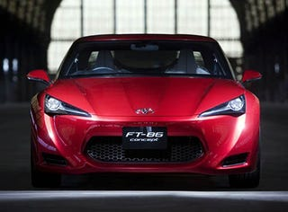 Illustration for article titled Toyota FT-86: Rumors Of My Redesign Have Been Greatly Exaggerated