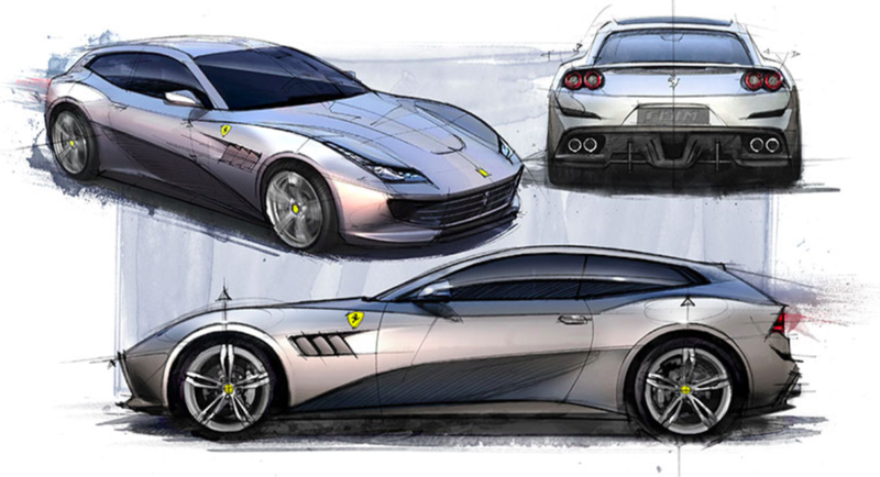 The GTC4Lusso which is not an SUV. Image: Ferrari