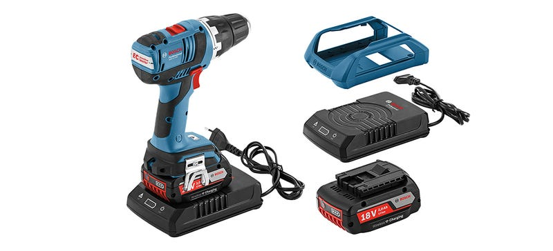 Illustration for article titled You Can Finally Buy an Inductive Charger For Your Bosch Power Tools