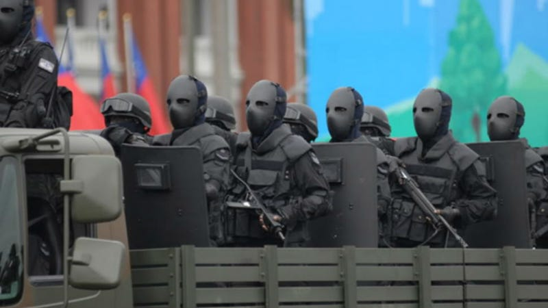 Illustration for article titled Taiwan's New Special Forces Uniforms Are Wearable Nightmare Fuel