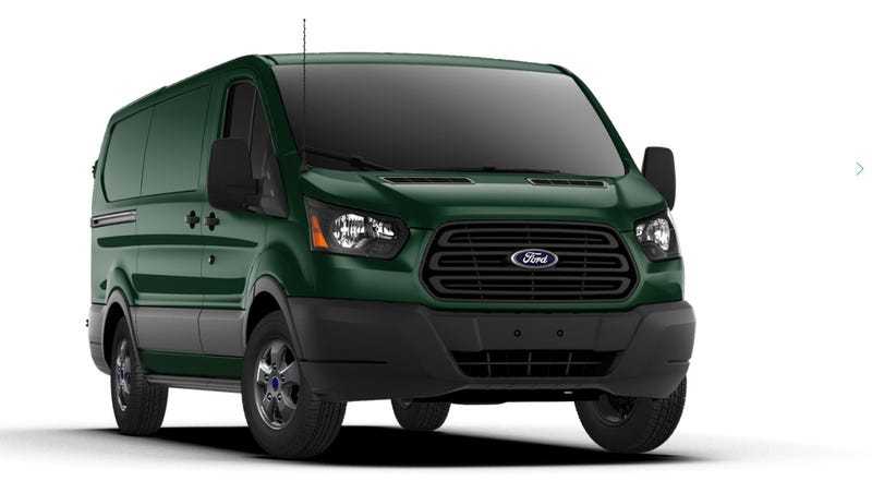 Illustration for article titled Ford Is Selling A New Supervan And They Aren't Even Making A Big Deal About It