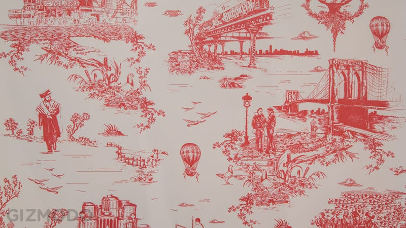 Illustration for article titled Cover Your Walls In Brooklyn With This Wallpaper By Beastie Boy Mike D