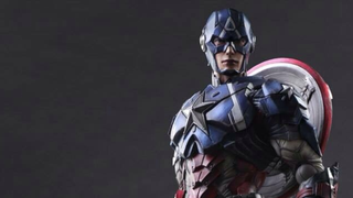 Illustration for article titled Square-Enix's Captain America Is Angular As Hell