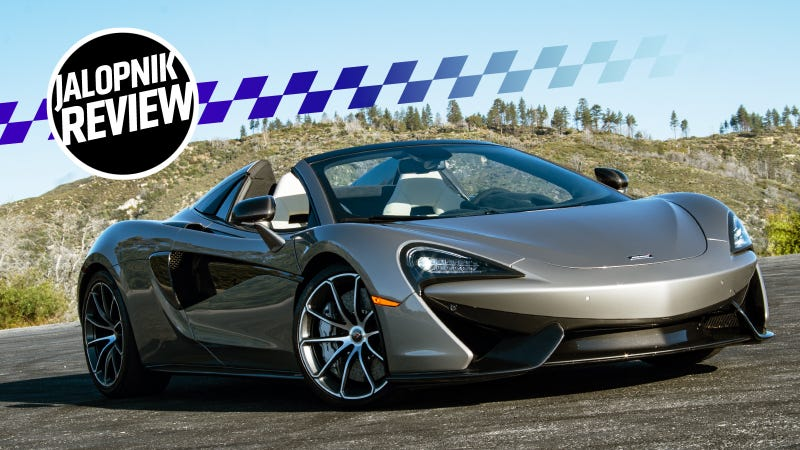 The 2018 McLaren 570S Spider Is More Extreme Than I Expected