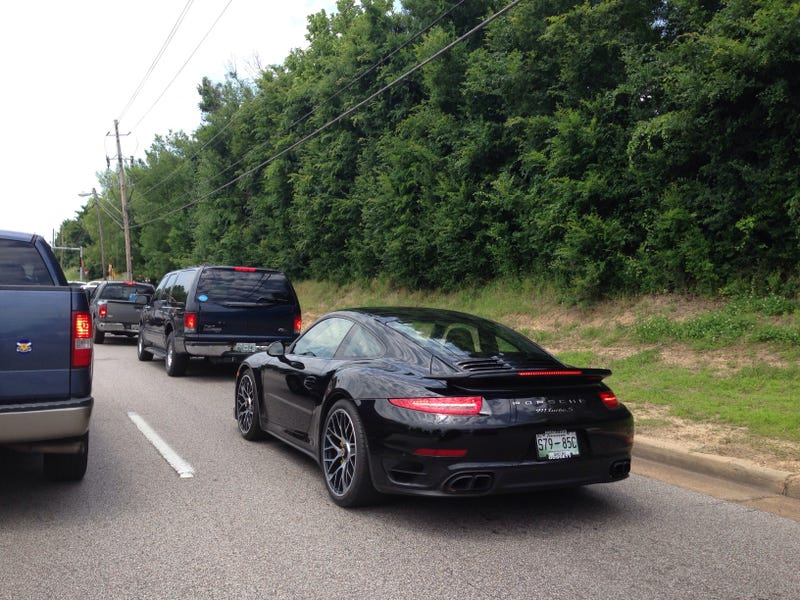Illustration for article titled 2015 911 Turbo S Spotted – in the Wild