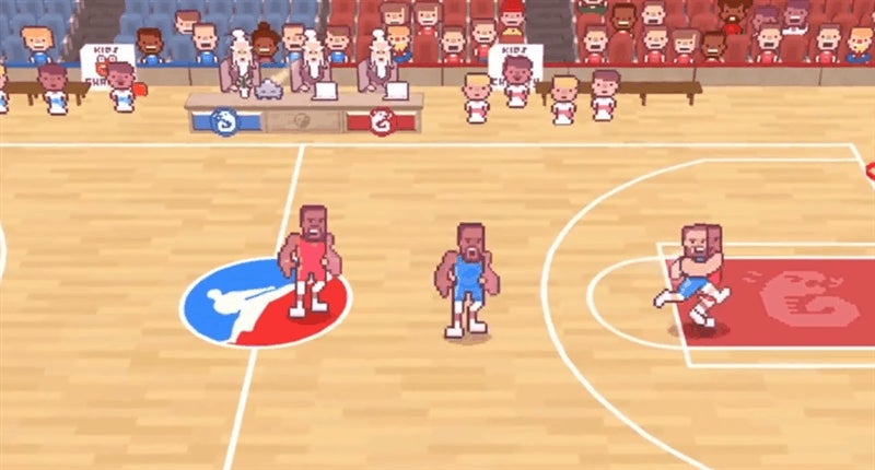 Draymond Green's karate basketball video game