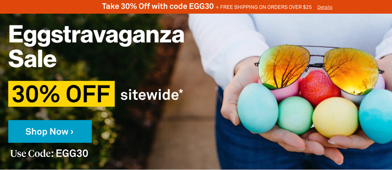 30% Off Sitewide | Sunglass Warehouse | Promo code EGG30