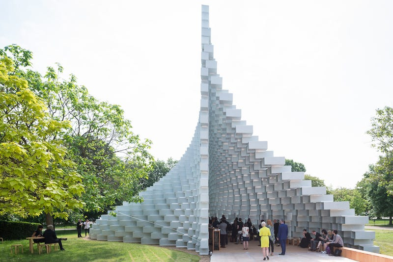 Serpentine Pavilion 2016 designed by Bjarke Ingels Group (BIG); (10 June – 9 October); (All images: Iwan Baan)