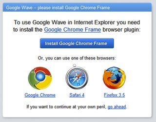 Illustration for article titled Internet Explorer, Now Powered by Google Chrome