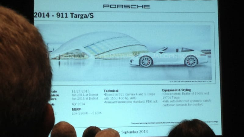 Illustration for article titled New Porsche 911 Targa Has A Super Trick Automatic Roof