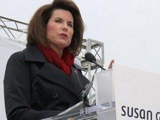 Nancy Brinker of Susan G. Komen for the Cure (AFP)