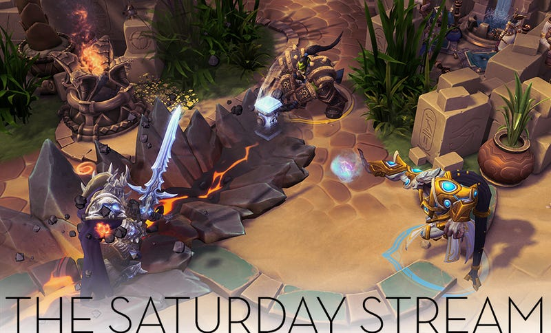 Illustration for article titled The Saturday Stream Challenges Heroes Of The Storm [All Done!]
