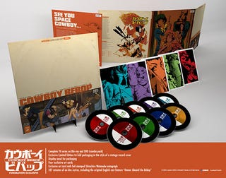 Illustration for article titled Cowboy Bebop Limited Edition
