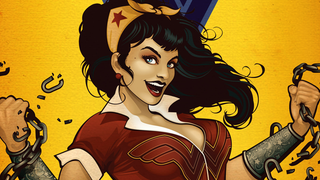 Illustration for article titled DC's Pinup Superhero Statues Are Getting Their Own Comic Book