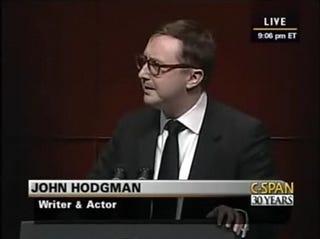 """Illustration for article titled John Hodgman: """"Barack Obama Is the First Nerd President"""""""