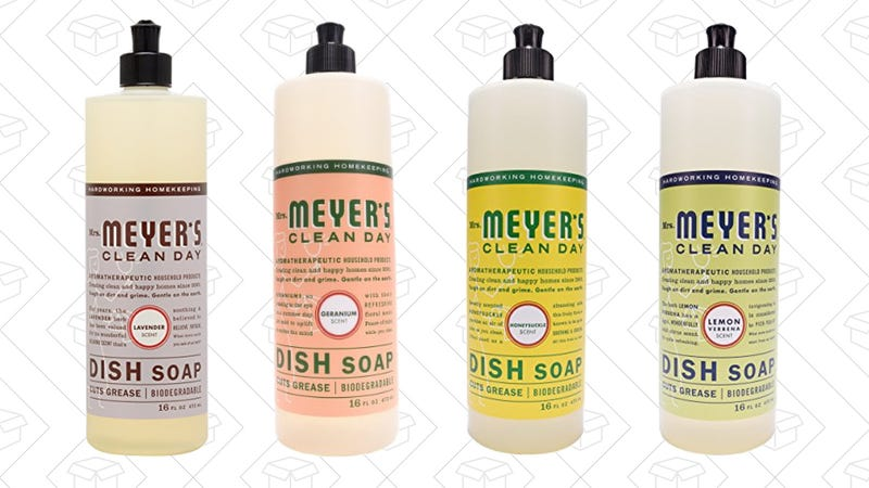 Mrs. Meyer's Clean Day Dish Soap 3-Pack, $9
